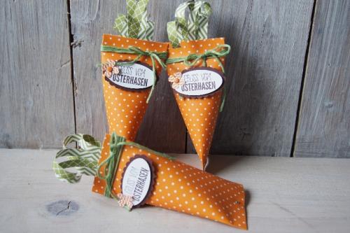 Sour Creme Verpackung Karotte, Bild1, gebastelt mit Produkten von Stampin\' Up!