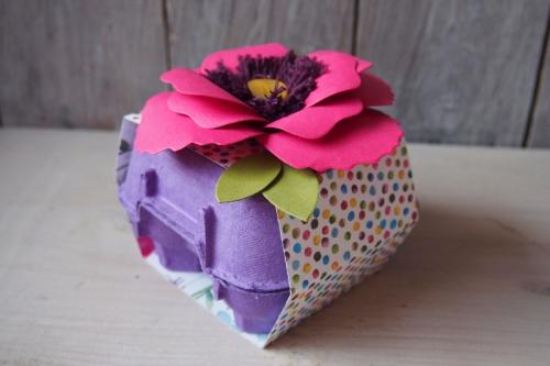 Osterdeko mit Stanze Bouquet, Bild1, gebastelt mit Produkten von Stampin\' Up!