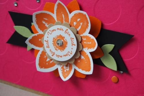Grußkarte Wassermelone/Orangentraum, Bild 2, gebastelt mit Produkten von Stampin\' Up!