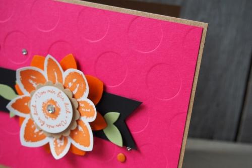 Grußkarte Wassermelone/Orangentraum, Bild 3, gebastelt mit Produkten von Stampin\' Up!