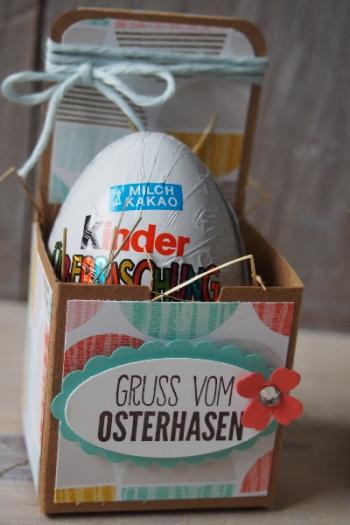 Ostereierverpackung, Bild2, gebastelt mit Produkten von Stampin\' Up!