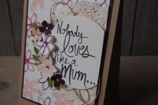 Muttertagskarte, Bild2, gebastelt mit Produkten von Stampin\' Up!