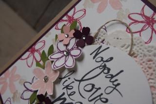 Muttertagskarte, Bild3, gebastelt mit Produkten von Stampin\' Up!