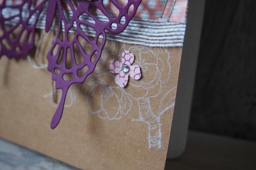 Notizbuch dekorieren, Bild3, gebastelt mit Produkten von Stampin\' Up!