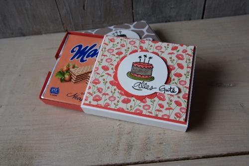 Verpackung Neapolitaner-Waffel, Bild3, gebastelt mit Produkten von Stampin\' Up!