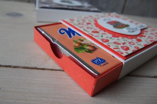 Verpackung Neapolitaner-Waffel, Bild5, gebastelt mit Produkten von Stampin\' Up!