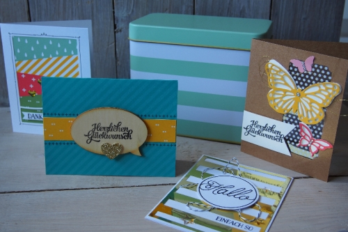 Kartenset Grußelemente, Bild1, gebastelt mit Produkten von Stampin\' Up!