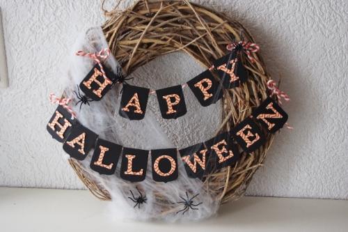 Halloween Kranz, Bild1, gebastelt mit Produkten von Stampin\' Up!