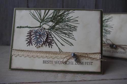 Klassische Weihnacht, Bild 1, gebastelt mit Produkten von Stampin\' Up!.
