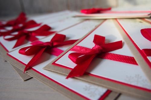Schnelle Weihnachtskarte, Bild3, gebastelt mit Produkten von Stampin\' Up!