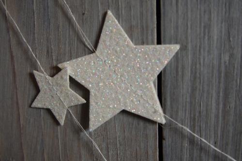 Sternengirlande, Bild2, gebastelt mit Produkten von Stampin\' Up!