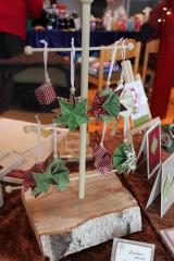 Weihnachtsmarkt mit Zaubersternen, gebastelt mit Produkten, Stempeln und Stanzen von Stampin\' Up!