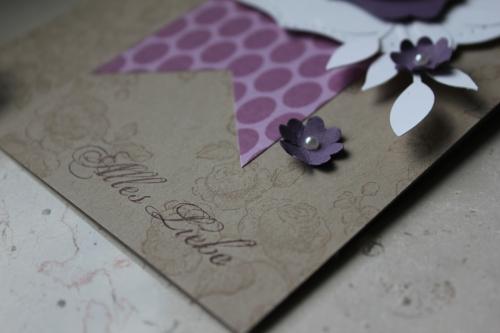 Grußkarte \'Alles Liebe\', Bild 3, zum Geburtstag, Valentinstag oder einfach nur so, gebastelt mit Produkten, Stempeln und Stanzen von Stampin\' Up!