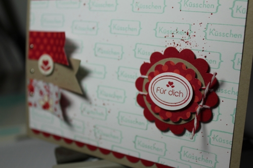 Valentinskarte mit dem Stempelset Meinem Valentinsschatz und dem simply sent Kartenset, Bild3,gebastelt mit Produkten, Stempeln und Stanzen von Stampin\' Up!