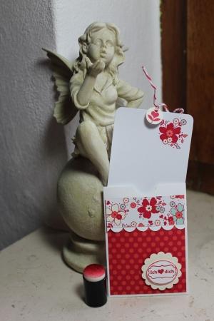 Grußkarte/Gutscheinkartenhalter mit Meinem Valentinsschatz und Simply Sent Kartenset, Bild1, gebastelt mit Produkten, Stempeln und Stanzen von Stampin\' Up!