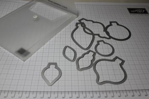Blume/Seerose basteln mit den Framelits Formen Christbaumschmuck/Ornament Keepsakes, Bild1, gebastelt mit Produkten, Stempeln und Stanzen von Stampin\' Up!