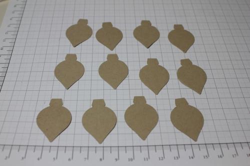 Blume/Seerose basteln mit den Framelits Formen Christbaumschmuck/Ornament Keepsakes, Bild3, gebastelt mit Produkten, Stempeln und Stanzen von Stampin\' Up!