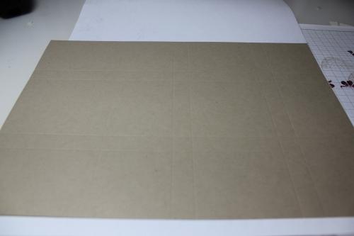 Bastelanleitung für eine Papierbox, Bild2, gebastelt mit Produkten, Stempeln und Stanzen von Stampin\' Up!