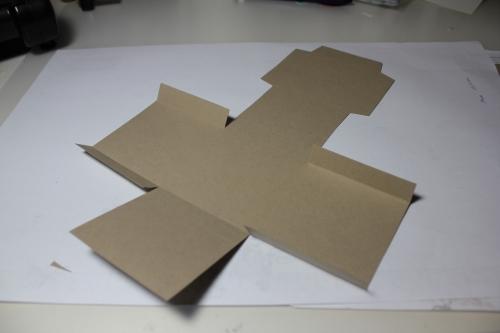 Bastelanleitung für eine Papierbox, Bild5, gebastelt mit Produkten, Stempeln und Stanzen von Stampin\' Up!
