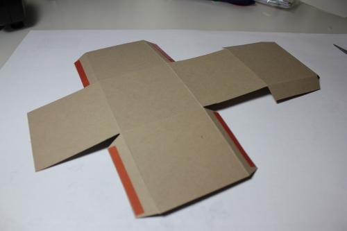Bastelanleitung für eine Papierbox, Bild7, gebastelt mit Produkten, Stempeln und Stanzen von Stampin\' Up!