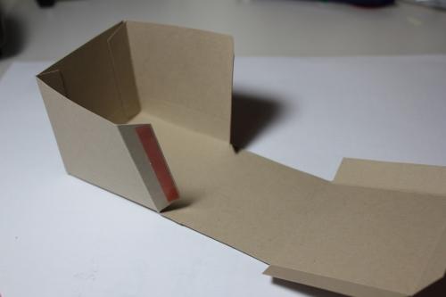 Bastelanleitung für eine Papierbox, Bild8, gebastelt mit Produkten, Stempeln und Stanzen von Stampin\' Up!