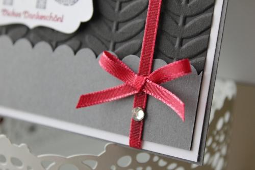 Danksagungskarte mit Sale-A-Bration Stempelset Gemusterte Grüße und Prägeform Retro Reben, Bild3, gebastelt mit Produkten, Stempeln und Stanzen von Stampin\' Up!