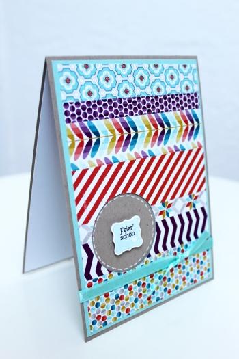 Geburtstagskarte mit Sale-A.Bration Produkten, Bild1, mit Produkten, Stempeln und Stanzen von Stampin\' Up!