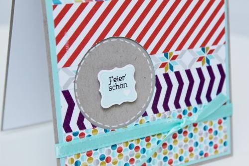 Geburtstagskarte mit Sale-A.Bration Produkten, Bild2, mit Produkten, Stempeln und Stanzen von Stampin\' Up!