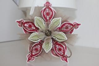 Weihnachtsstern Chilli, gebastelt mit Produkten, Stempeln und Stanzen von Stampin\' Up!