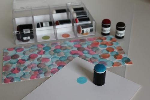 Schwämmchenbox, gebastelt mit Produkten, Stempeln und Stanzen von Stampin\' Up!