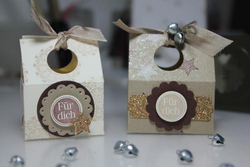 Schachteln, Verpackungen, gebastelt mit Produkten, Stempeln und Stanzen von Stampin\' Up!