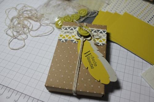 Designerdruck- Set Schachtelgrüße, Bild3, gebastelt mit Produkten, Stanzen und Stempeln von Stampin\' Up!
