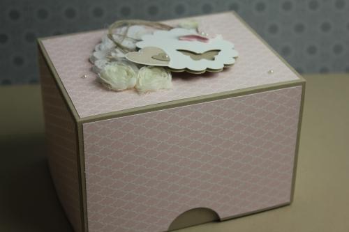 Box/Verpackung für Babyschuhe, Bild5, gebastelt mit Produkten, Stanzen und Stempeln von Stampin\' Up!