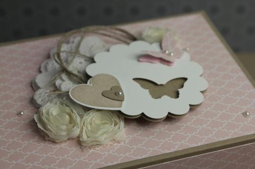 Box/Verpackung für Babyschuhe, Bild6, gebastelt mit Produkten, Stanzen und Stempeln von Stampin\' Up!