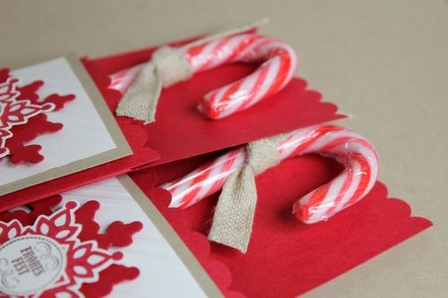 Zuckerstangenverpackung, Bild2, gebastelt mit Produkten von Stampin\' Up!