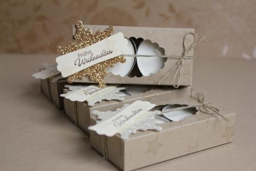 Teelichtverpackung, Bild 1, gebastelt mit Produkten von Stampin\' Up!