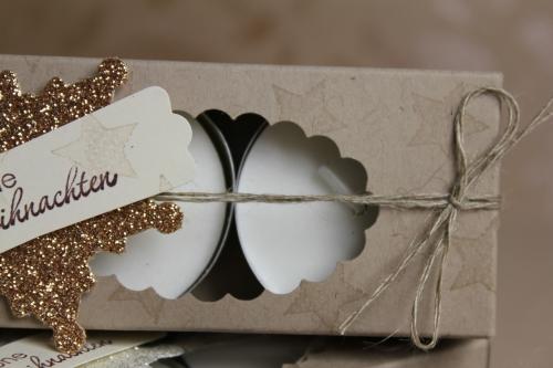 Teelichtverpackung, Bild 3, gebastelt mit Produkten von Stampin\' Up!