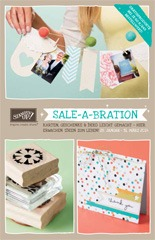 Aktion: Sale-A-Bration 2014 von Stampin' Up!
