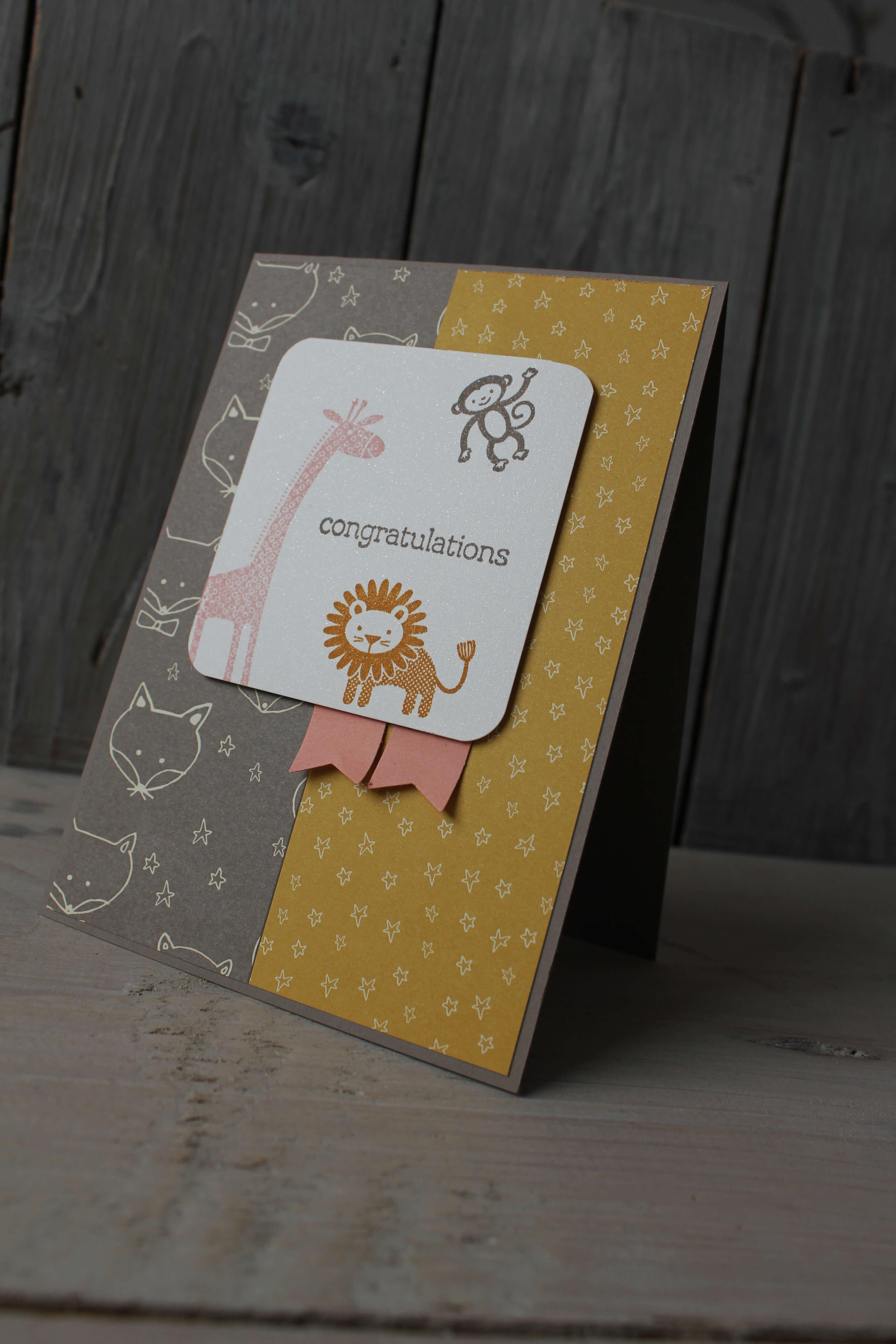 babykarte f r m dchen basteln mit stampin 39 up. Black Bedroom Furniture Sets. Home Design Ideas