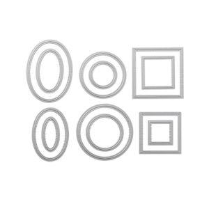 145372 Framelits Formen Stickmuster