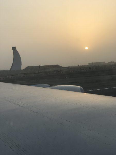 Zwischenstop in Abu Dhabi
