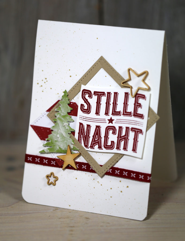 Freitagsvideo/Wie ein Weihnachtslied - Kreativ mit Stampin\' Up!