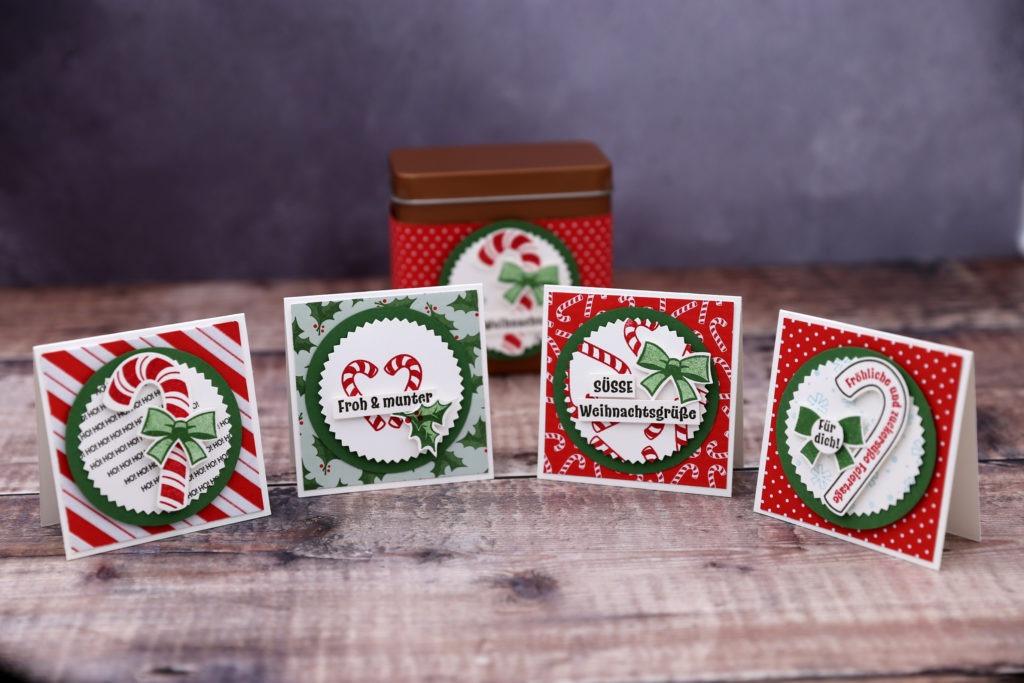 8 tage weihnachten tag 3 minikarten in der dose mit. Black Bedroom Furniture Sets. Home Design Ideas